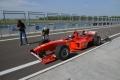 La Ferrari F300 in pista con EVO UK