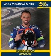 Marco Borciani:  pilota motociclistico e dirigente sportivo italiano. Ha vinto 2 volte il Campionato Italiano Superbike con una Ducati 999 ufficiale nel 2006 e 2007. Attualmente è pilota della Free Riding by Luca Pedersoli.