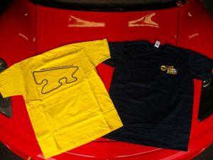 T-Shirt blu Autodromo di Modena