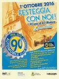 1 OTTOBRE - LA FESTA PER I 90 ANNI DI ACI MODENA