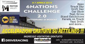 6/7 APRILE - 6 NATIONS CHALLENGE 2.0 - PACCHETTO 4 TURNI