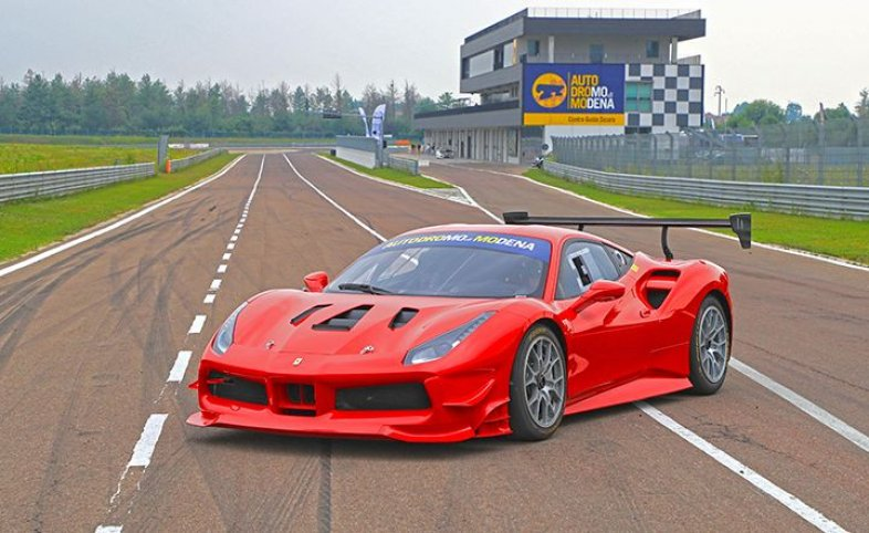 NEW: RED DELUXE EXPERIENCE - F488 CHALLENGE
