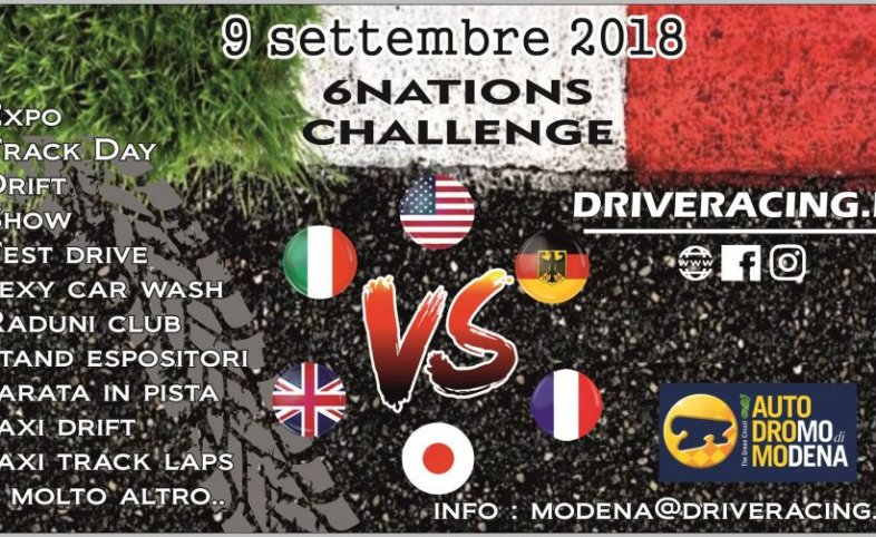 9 SETTEMBRE - 6NATIONS CHALLENGE